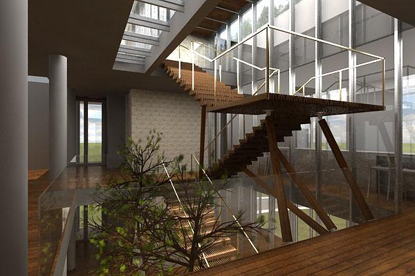 Seriberingin residence for Residential atrium
